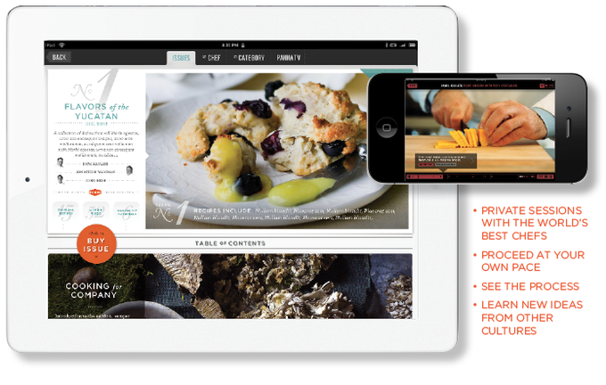 Panna a step by step video cooking app for the ipad by david the app will be a monthly video subscription organized into sections such as entertaining weeknight meals classics and more starting in september 2012 forumfinder Images