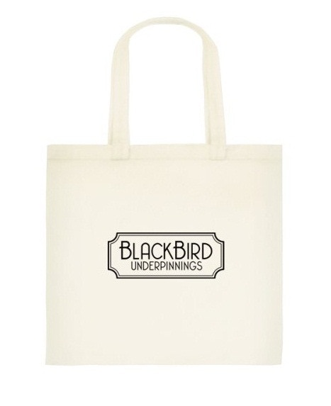 Blackbird Underpinnings Tote Bag