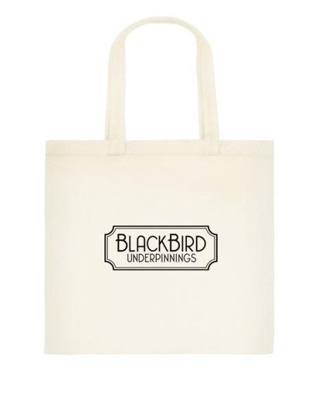 Blackbird Underpinnings Tote Bag