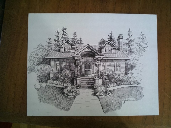 $400 Reward! Rendering of your home!