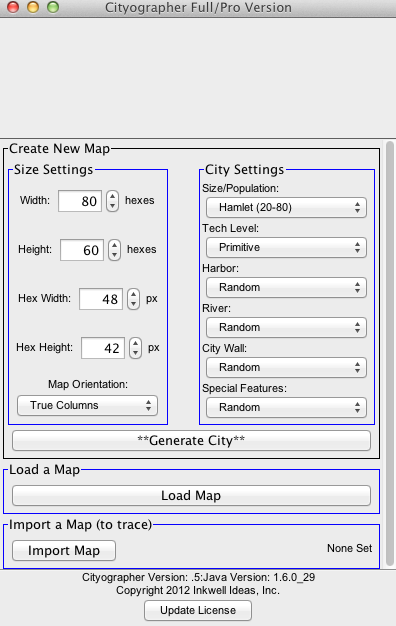 Cityographer - City Generator & Mapping Software by Inkwell Ideas