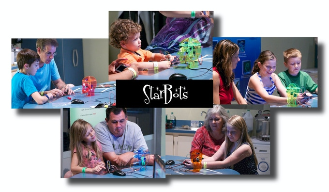 """Teaching """"Intro to Arduino & Animatronics"""" with StarBots at The Orlando Science Center."""