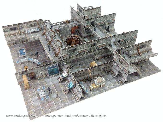 Battle Systems™ Sci-fi Modular Terrain by Battle Systems Ltd