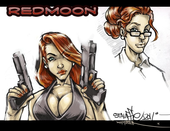 The Rise of Red Moon Comic Book by Paul R Michaels — Kickstarter