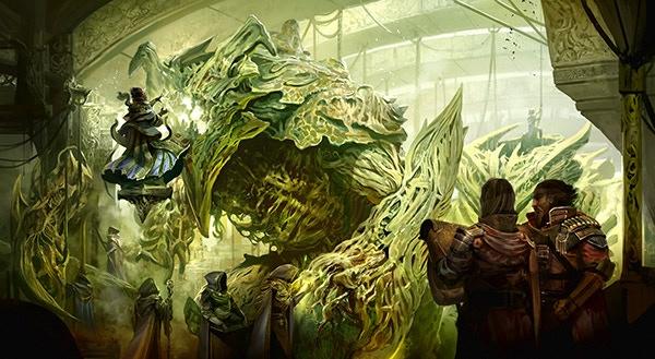 Golem Foundry, by Kekai Kotaki