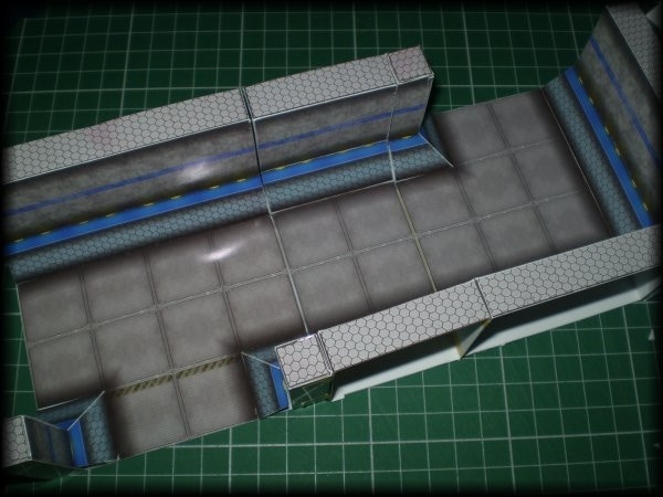 Assembled Base Sections