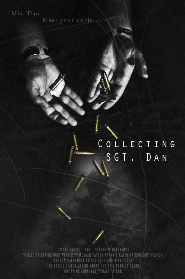 Here is the first poster created for Collecting Sgt. Dan.