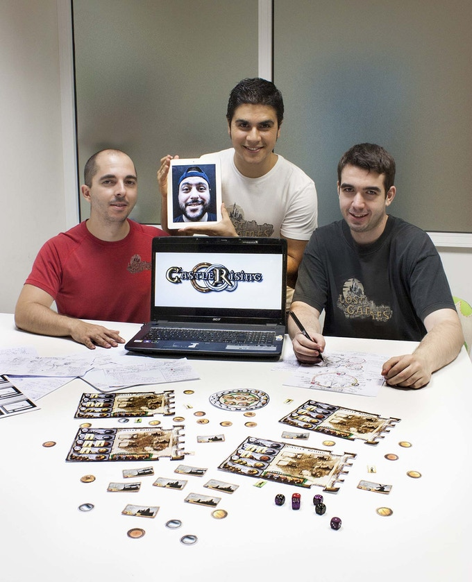 The Lost Games team