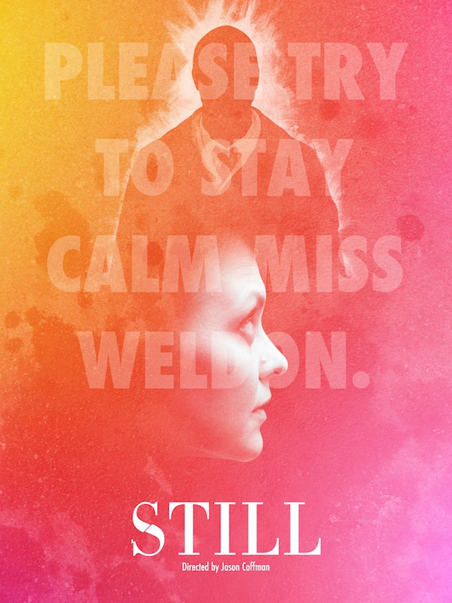 """Still"" poster mock-up designed by John Sant."