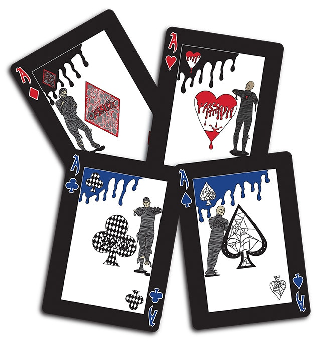 The Ace cards.
