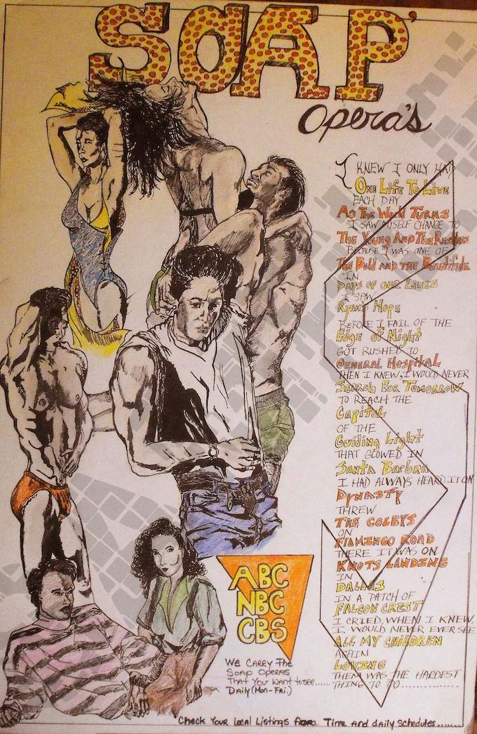 Soap Opera poster#2-1986