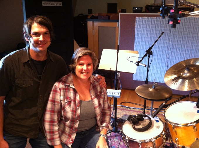 "WILCO drummer Glenn Kotche recorded on my song ""Drum Kit""!"