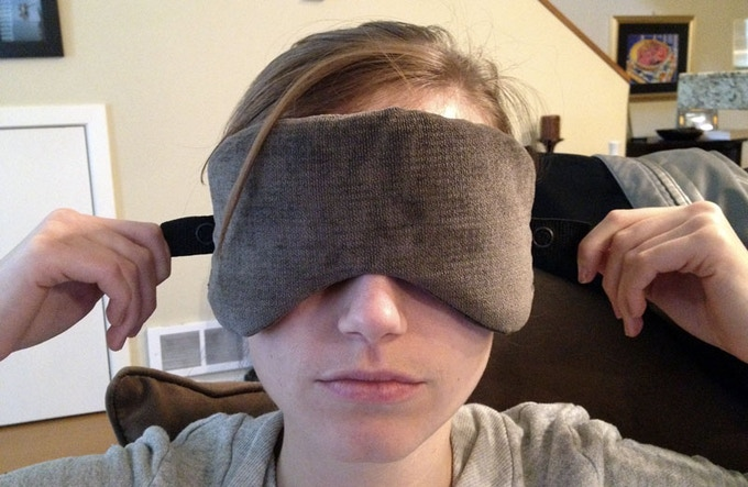 Sarah gets involved and things are stepping up. Light years ahead of the last, this version approaches the recognizable shape of a sleep mask.