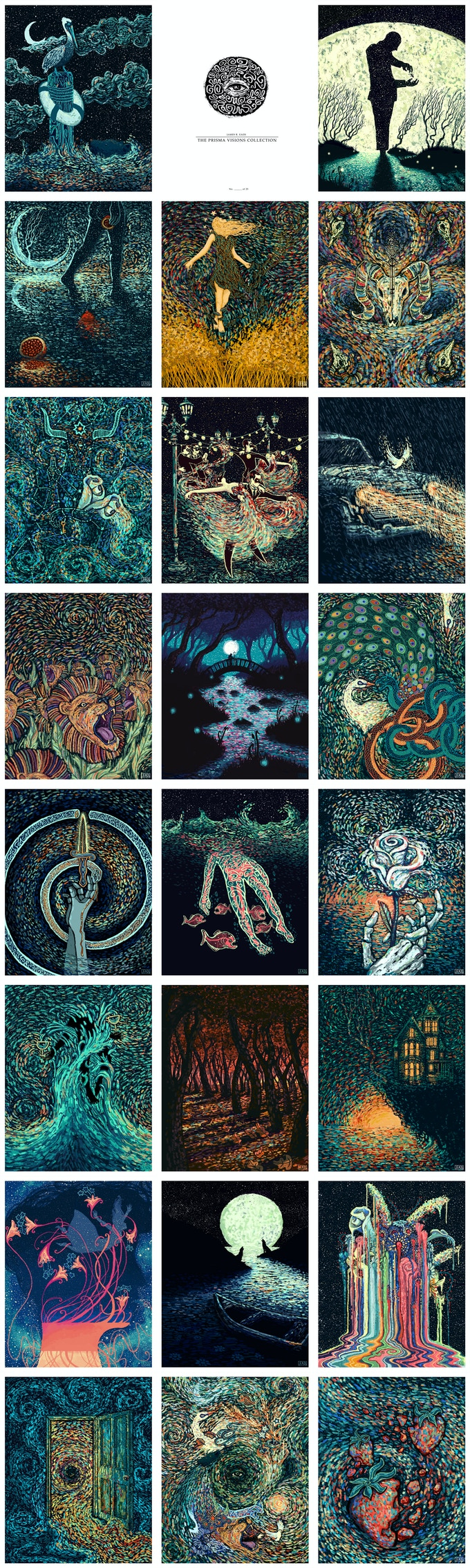 The Visions Project: Tarot Cards & Art Prints by James R  Eads