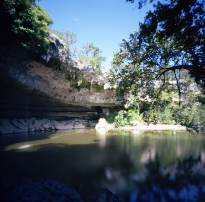 Hamilton Pool (c) 2013 Clint O'Connor (taken with Flyer 6x6)