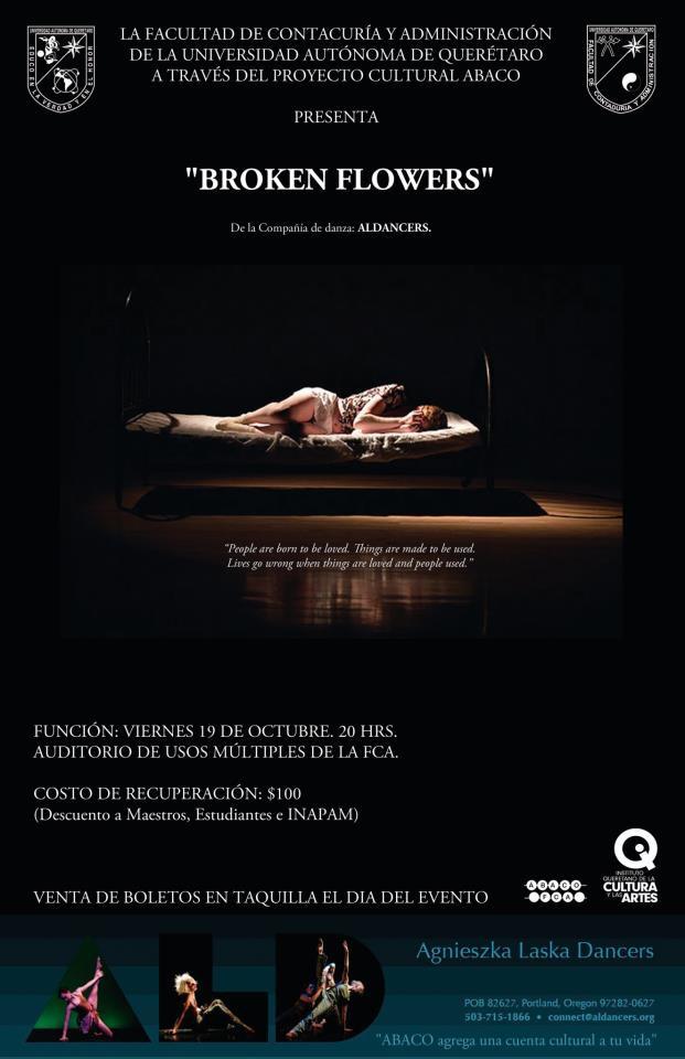 Broken Flowers: dance theater on human trafficking by