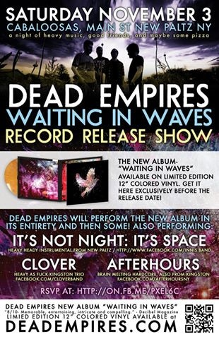 Help DEAD EMPIRES release our New Album (and Pre-Order) by