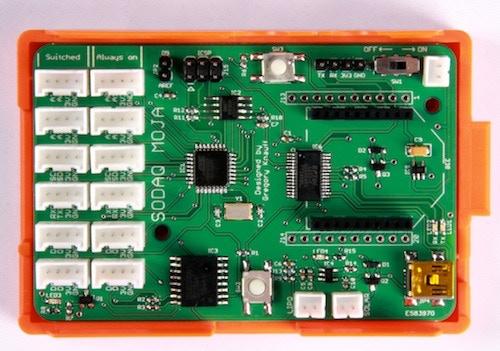 SODAQ in Raspberry Pi Case