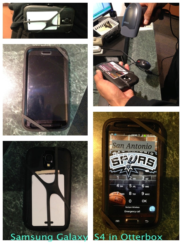 Samsung Galaxy S4 in an Otterbox