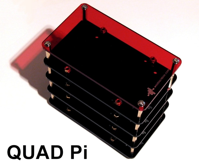 Space station modular enclosures for arduino raspberry