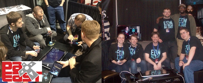 Eon Altar team demoing at PAX East! Spring 2013