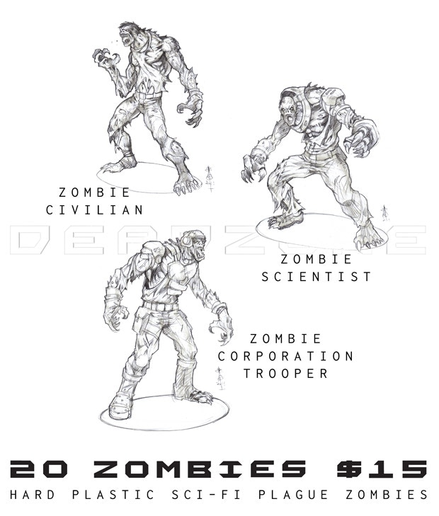 Deadzone: The Sci-fi Miniatures Board Game by Mantic Games