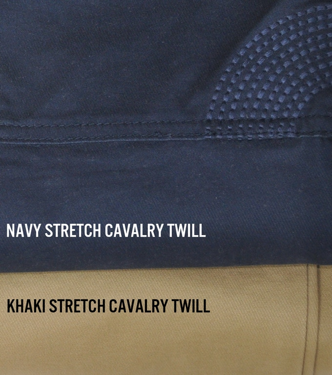 CRANK Utility Trouser is available in Navy and Khaki