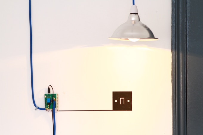 Use a relay shield to make a lightswitch