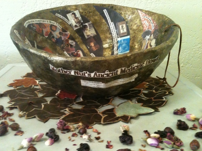 Native Medicine Bowl guides our selection of ancient grains & healing plants.