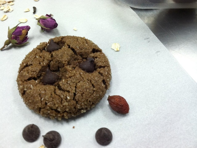 Carob Almond Butter, The first ancient cookie makeover...