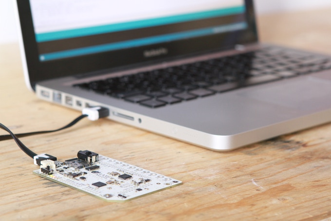 Programming the Touch Board via the Arduino IDE is easy.