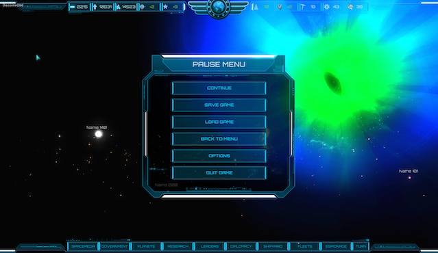 M O R E  - old school turn-based 4X space strategy game  by