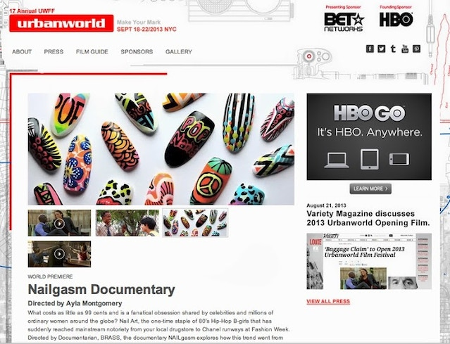 NAILgasm: A Documentary on the global obsession of NAIL ART