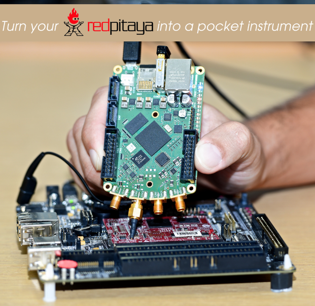 Red Pitaya: Open instruments for everyone by Red Pitaya » Turn your