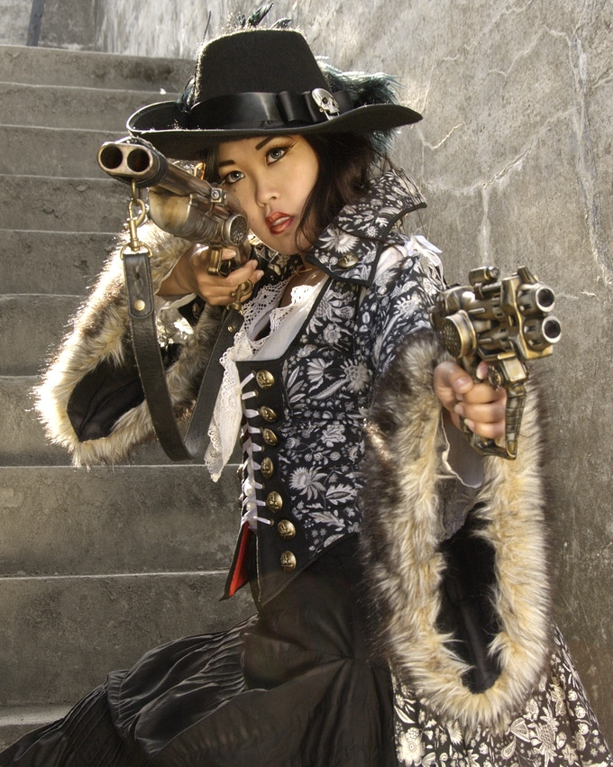 Our Steampunk Postcard set of 4 will feature four images from our previous Steampunk Shoot!