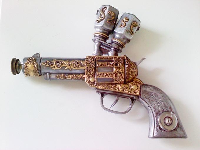 Steampunk Cowboy Gun.