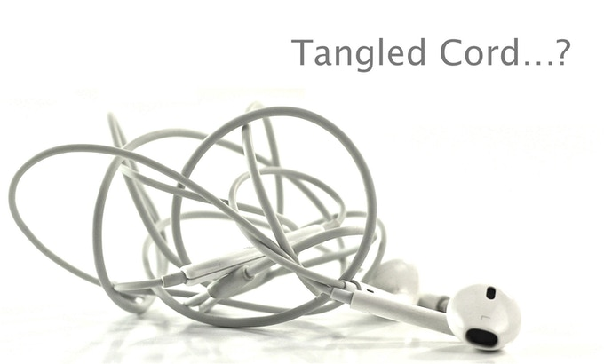 Tangled cord?