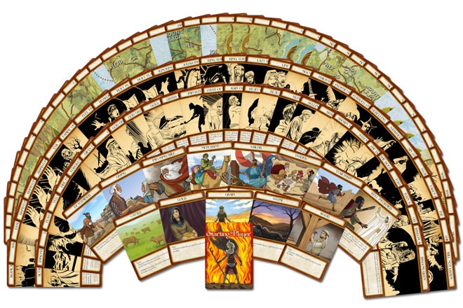 All of the cards in the game