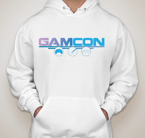GAMCON Hoodie for those that pledge $200 and above! Remember, there are still lots of cool rewards if you can't reach the $200 tier so be sure to check out the Rewards sidebar!