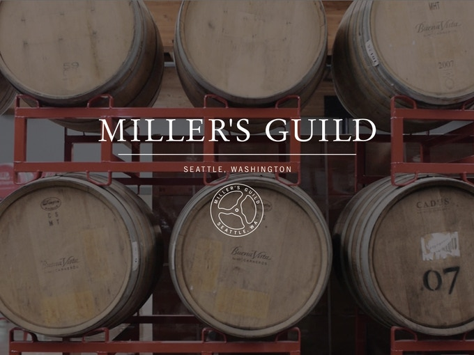 Spirits Ageing in Casks at Batch 206 in Seattle