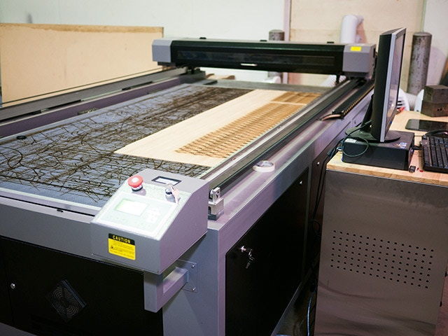 Our QU-BD CNC Laser w/ 51x100 Cutting Area
