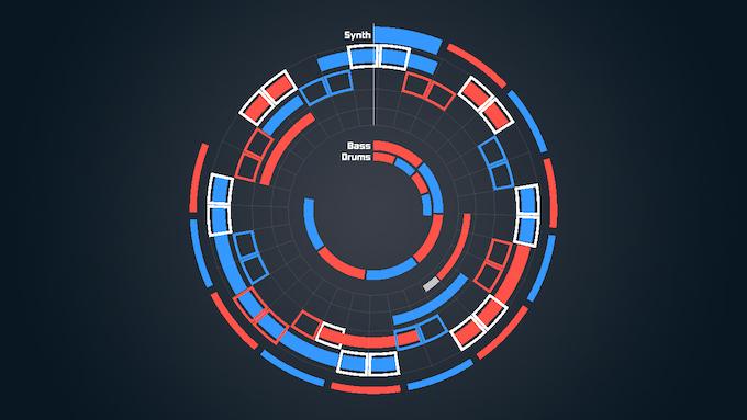 In-game screenshot of the prototype