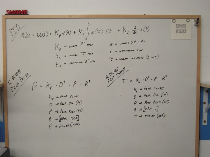 SwitchBlade Drive & Tuning Equations