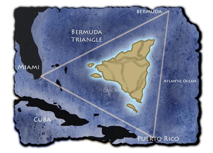Location Map of Purgatory in the Atlantic Ocean