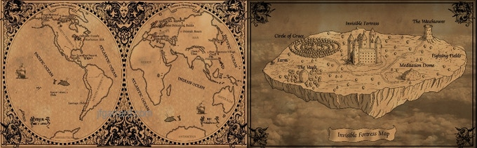 Maps for the book!