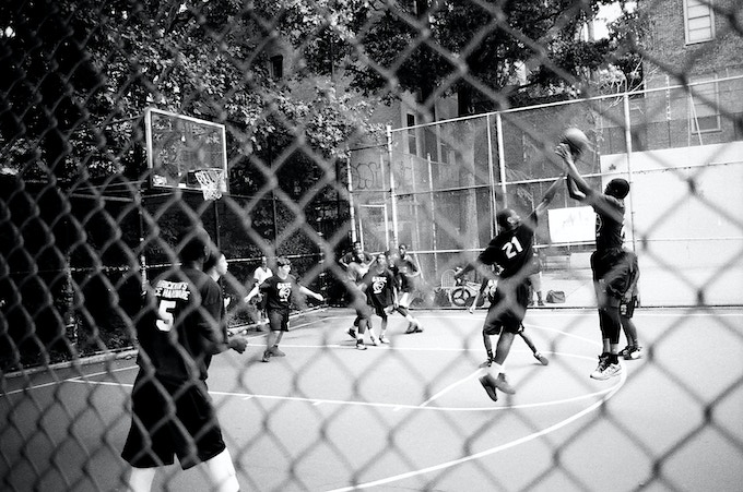 "Basketball - The open-edition 8 x 10"" photograph from the $25 reward"