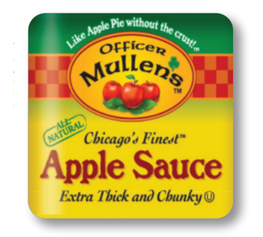 Mullen's Magnet - A Great, Saucy Reminder to Keep Your Fridge Stocked! 3 in x 3 in