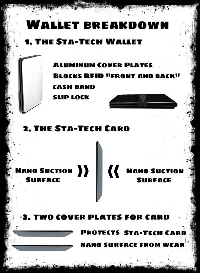 Sta-Tech Wallet : Slim Wallet and Universal Smartphone