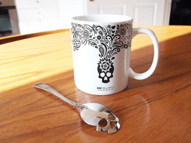 Reward #3: Special Edition Mug and 1 x Sugar Skull Spoon