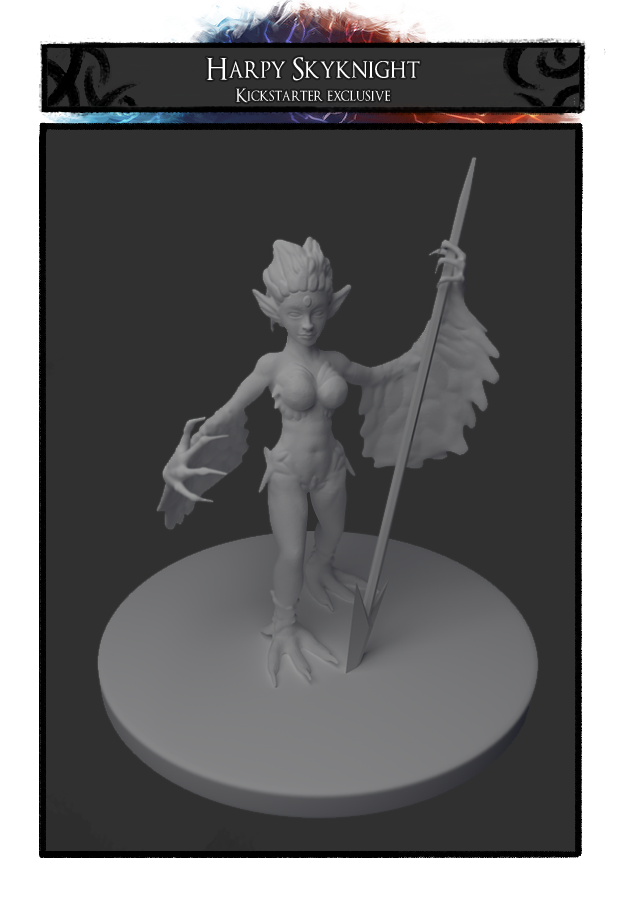 Harpy Skyknight, an awesome kickstarter exclusive!